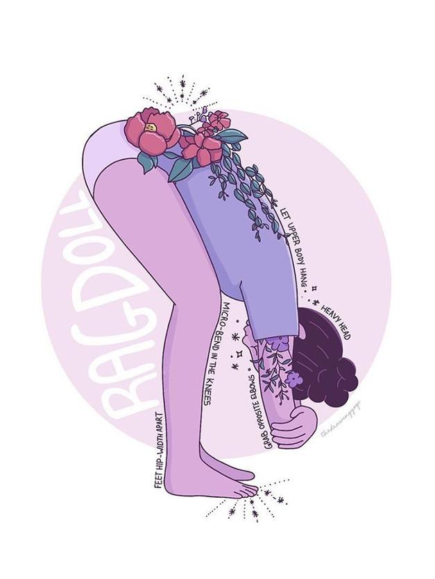 Yoga Pose Series - Ragdoll