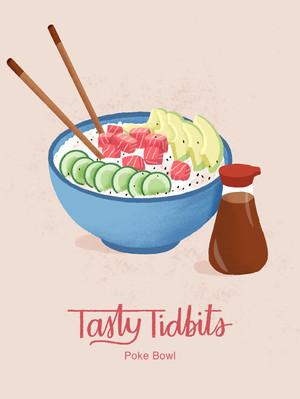 Tasty Tidbits Social Media Post