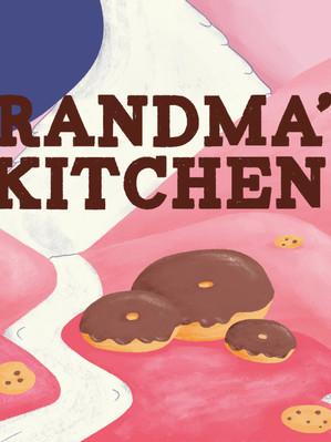 Grandma's Kitchen Logo Lock-up