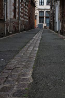 Vieux Lille : sur les pavés