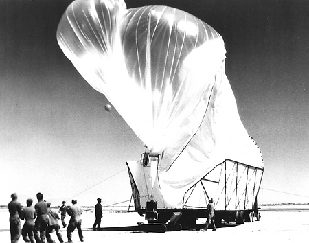 Balloon project launch