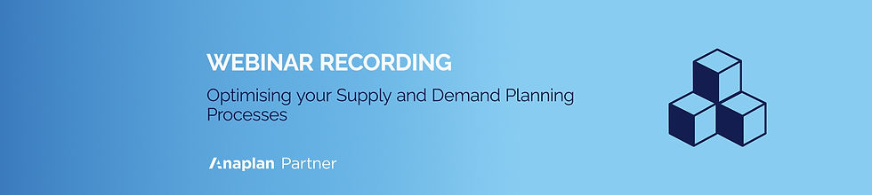 Supply and Demand Webinar Recording Wix
