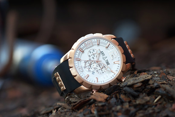 Dusty Rose Gold | Silver Dial