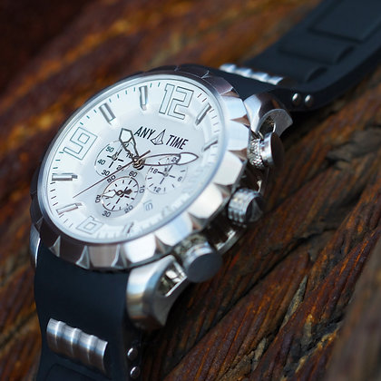 Solid Steel | Silver Dial