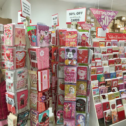 50% OFF ALL GREETING CARDS