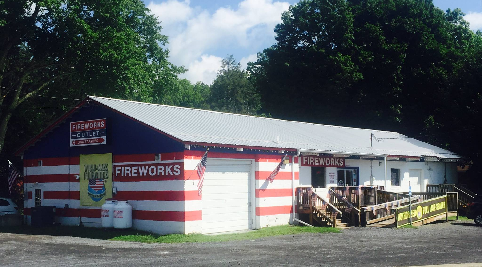 FIREWORKS OUTLET | TANNERSVILLE, PA