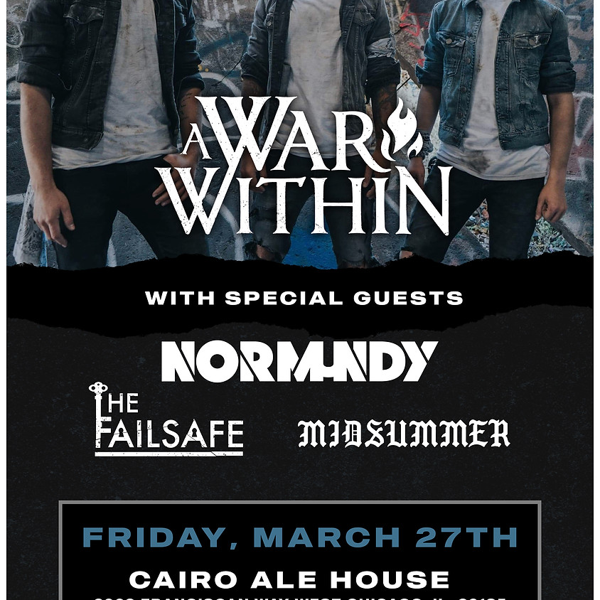 A War Within, Normundy + more @Cairo Ale House