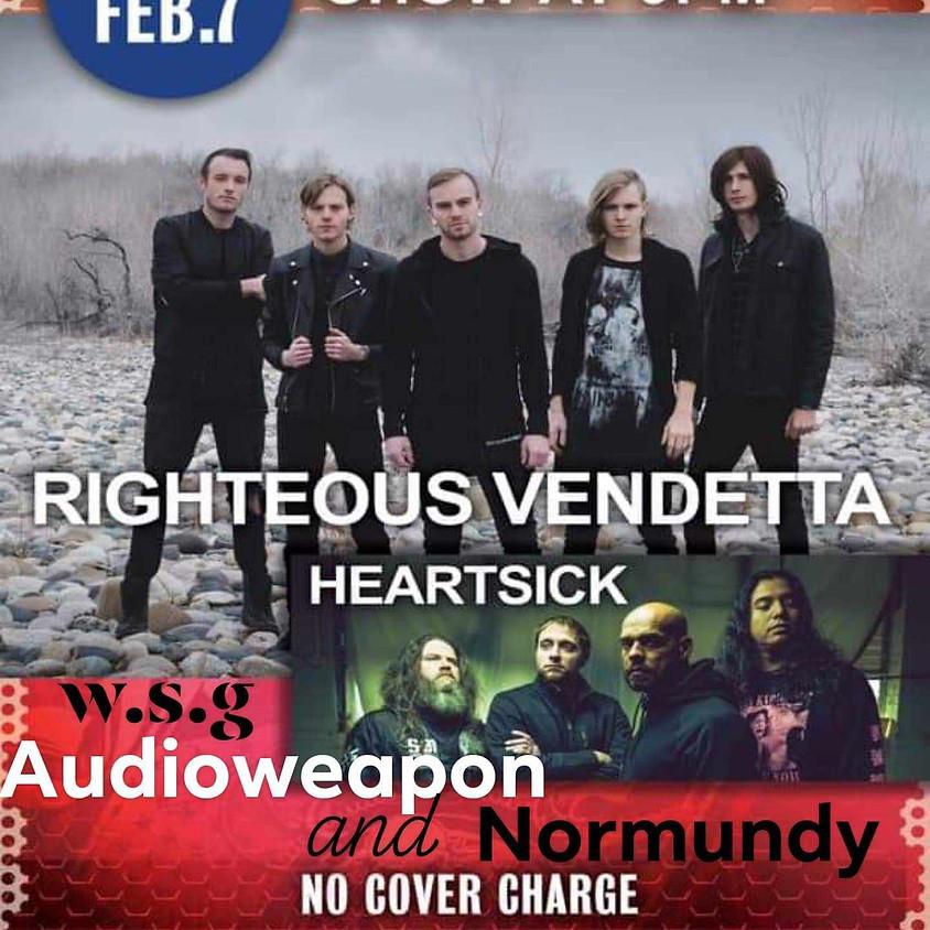 Righteous Vendetta & Heartsick Live At TSS