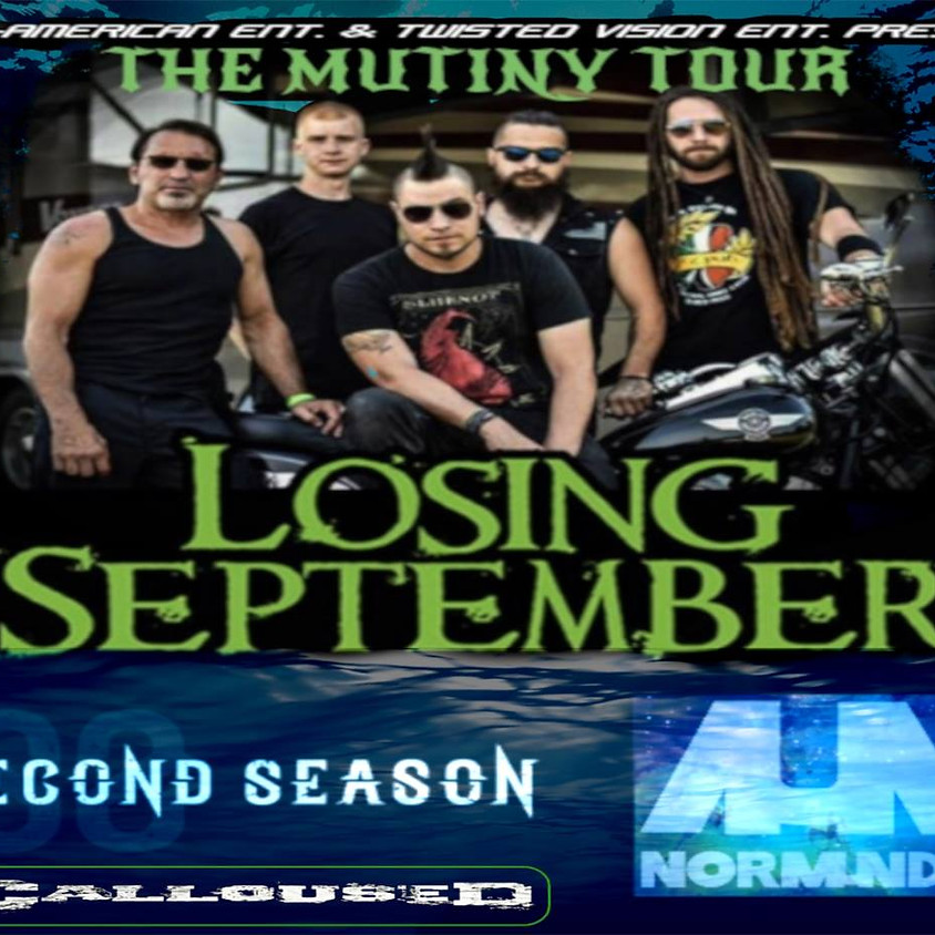 FREE SHOW!! Losing September, Normundy, On My Six, and more