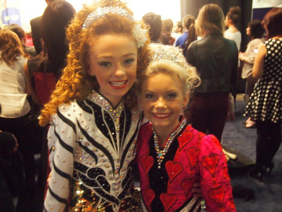 Clodagh & Amy Worlds 2013.jpg