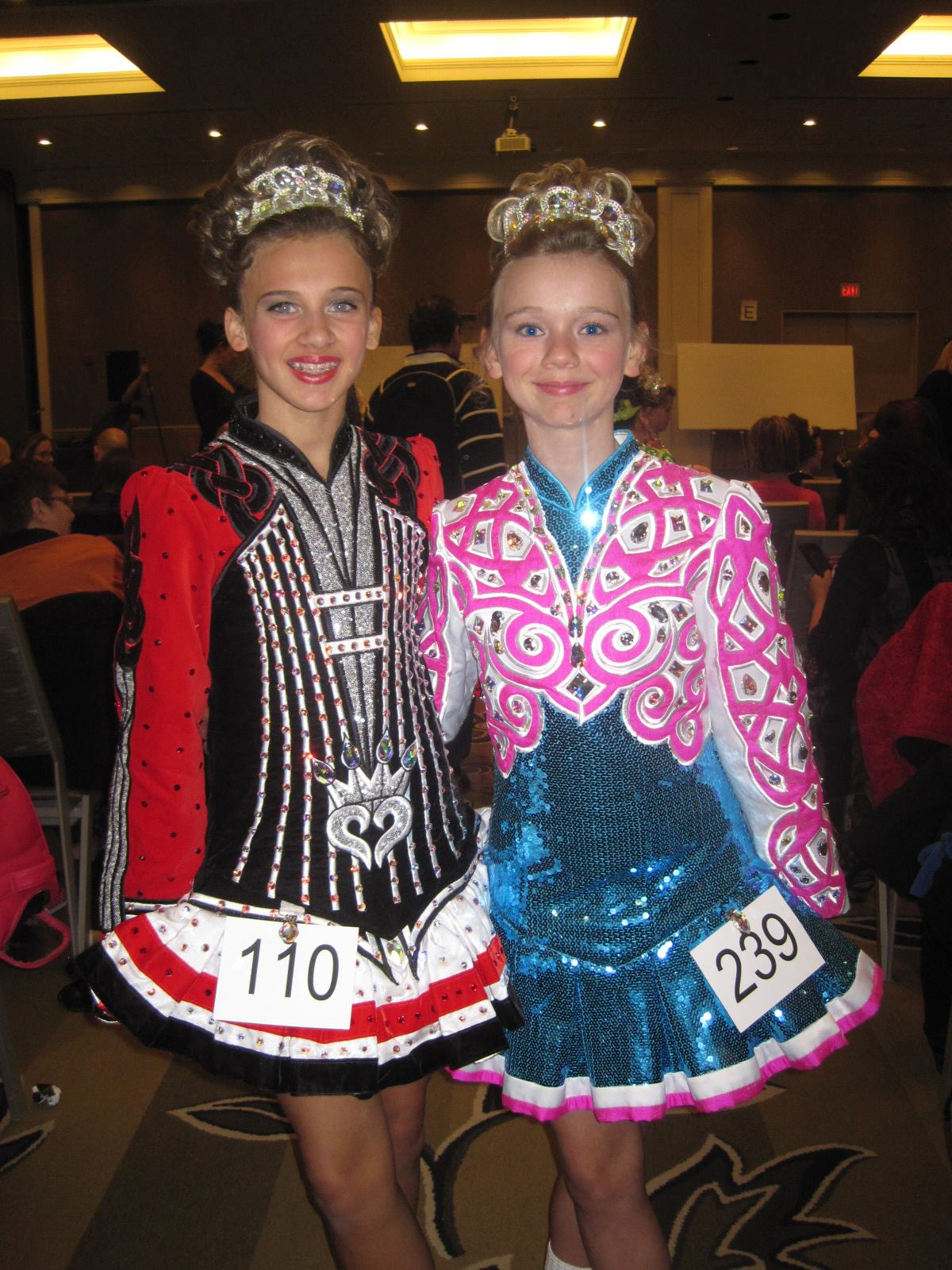 Ryleigh and Annie 2014 Blakey Feis.jpg