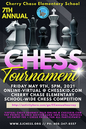 Cherry Chase 7th Annual Chess Tournament