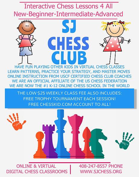 Copy of Primary School Chess Club Flyer