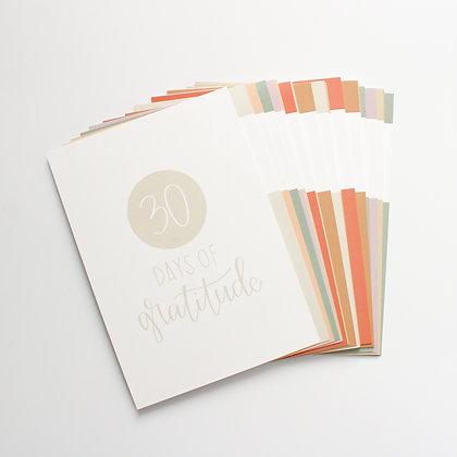 30 Days of Gratitude Card Set (Digital)