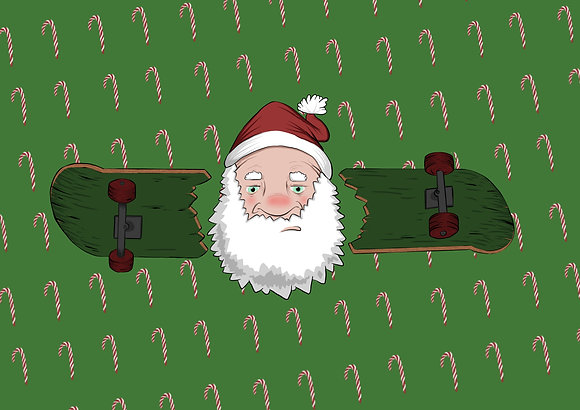 Santa's Got a Brand New Board