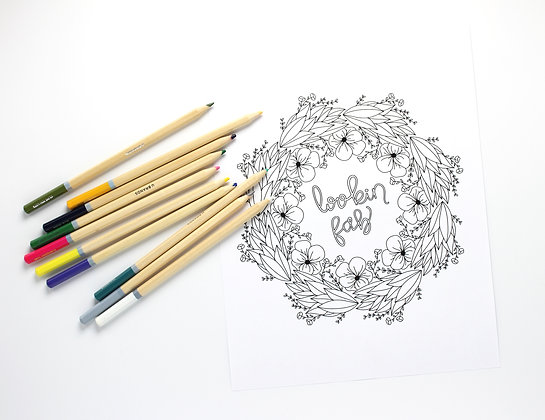 Looking Fab Coloring Page