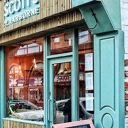 Scott's of Harborne. Restaurant Design and build by 81Designers