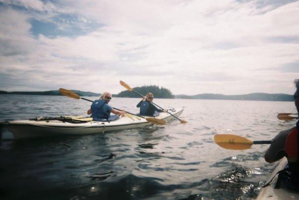 Sea kayak & camping in Canada 2008
