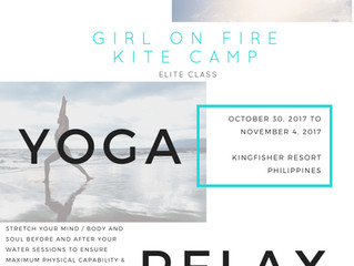 Girl on Fire Kite Camp launches Elite Class for 2017