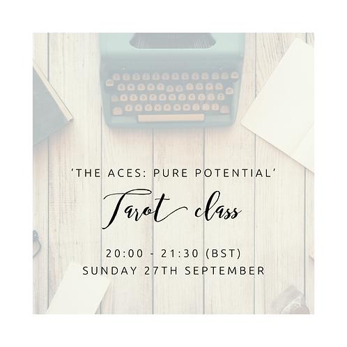 The Aces Tarot Class
