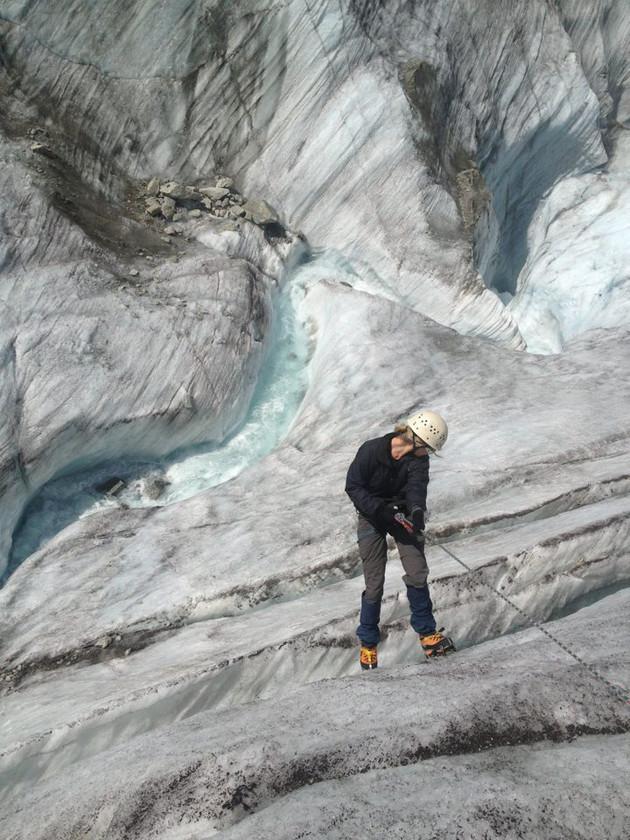 Glacier abseiling 2014
