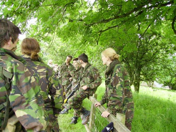 Officer training 2005-08