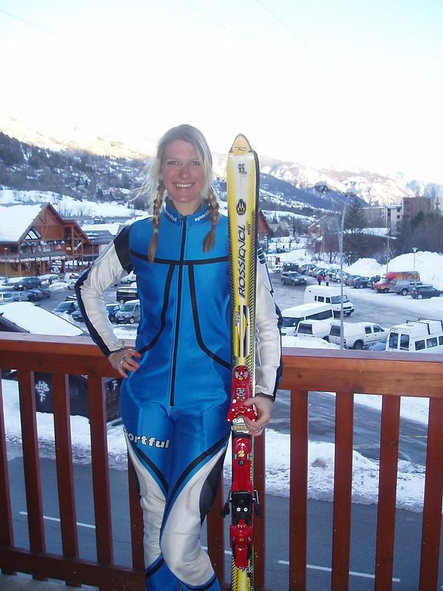 Ski racing with the British Army 2007