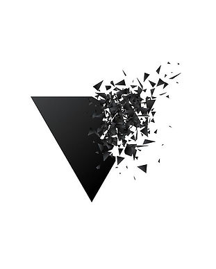 'Abstract Geometric 3D Triangle Pattern