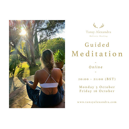 BOOK NOW: Guided Meditation