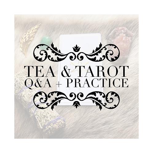SIGN UP TO JOIN: Tea & Tarot