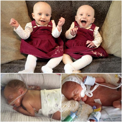 Twins Scarlett & Ruby