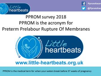 Pprom under 24 weeks gestation