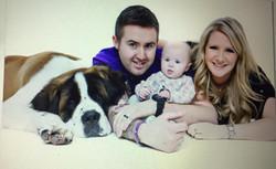 Claire Hyslop family photo
