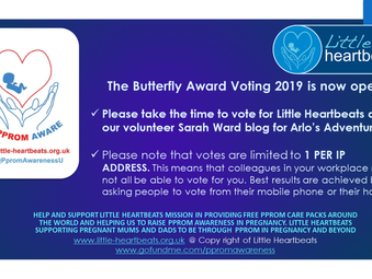 Let the voting start for The Butterfly Awards nominations 2019