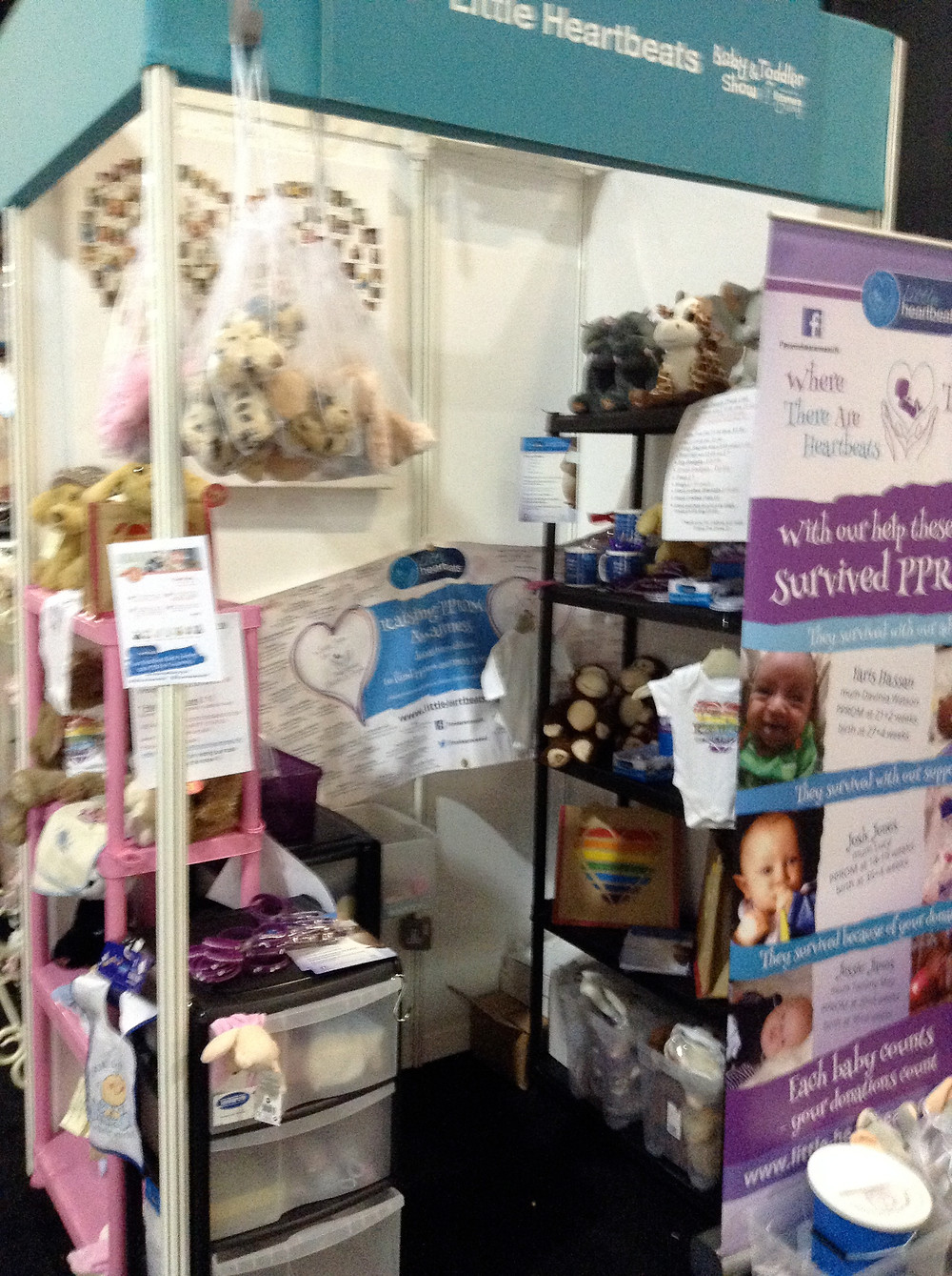 B23 Stand at The Baby and Toddler Show
