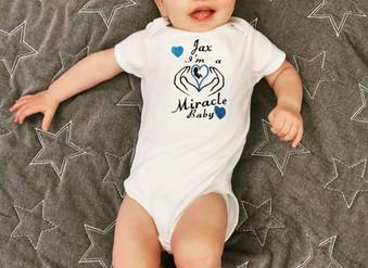 Little Heartbeats baby vests