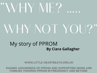 """""""Why Me?...Why NOT YOU? by Ciara Gallagher"""