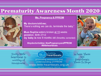 Prematurity Awareness Month 2020