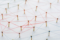 Background. Abstract concept of network,