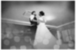 wedding photographer edinburgh fun happy bride groom first dance