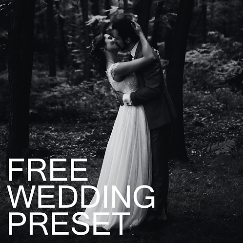 FREE Wedding Preset.