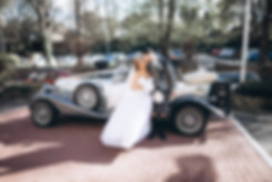wedding photographer edinburgh fun happy mum dad old kiss old car