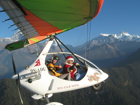 REIS NEPAL  Flytur over Himalaya