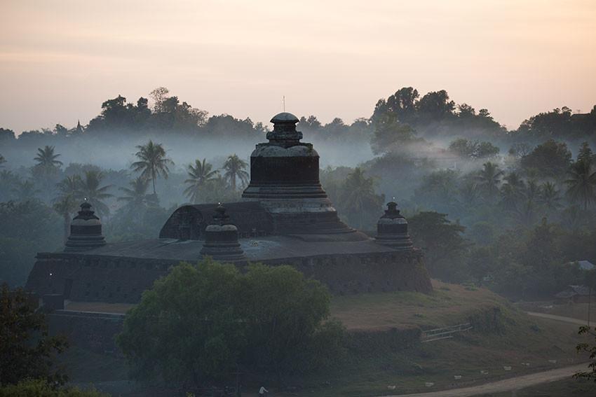 Dhukkantein temple Mrauk Ou Burma
