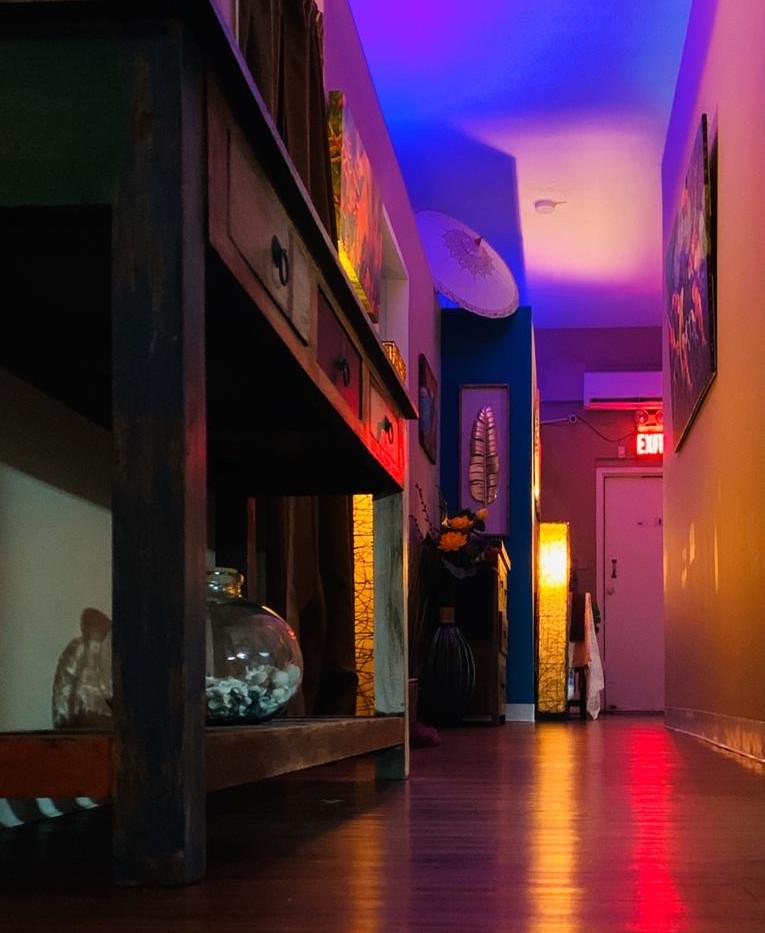 Hallway at Island Skin Spa