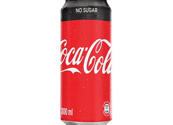 Coca- Cola Zero Can (300ml)