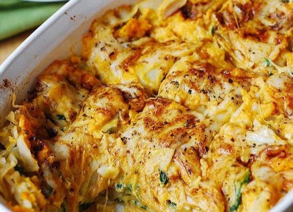 Butternut & Spinage Vegetarian Lasagne
