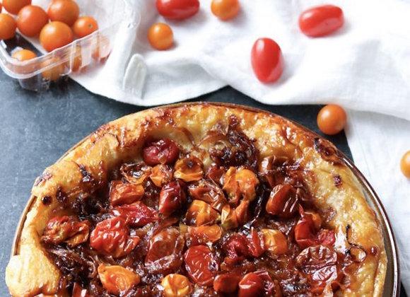 Tomato Tarte Tatin with Caramelised Onion