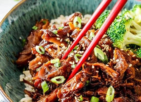 Asian Caramel Pulled Pork