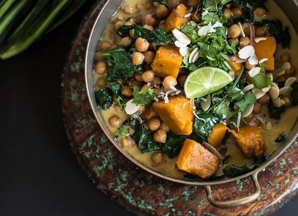Chickpea & Vegetable Korma